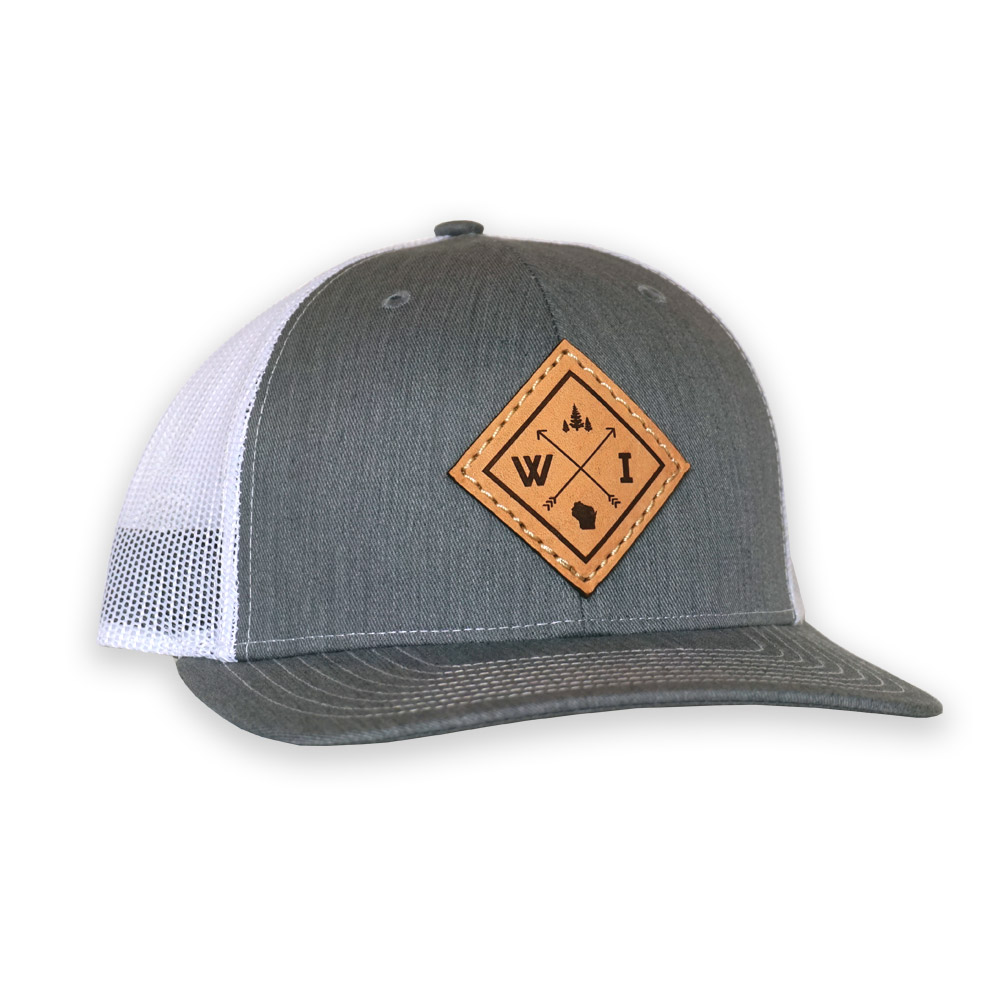 new style 37b76 cf171 Arrows Leather Patch Snapback